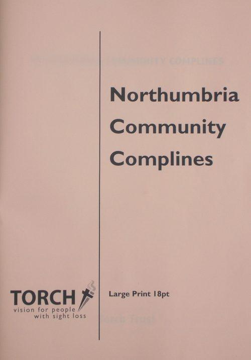 CDP Complines Booklet Large print 18pt