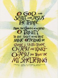 O God and Spirit
